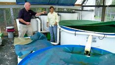 Aquaponics Commercial Fish Tank Sale Aquaponics: A system of aquaculture in which the waste produced by farmed fish or other aquatic animals supplies nutrients for plants grown hydroponically, which in turn purify the water. Visit my personal aquaponics setup at www.davaoaquaponics.com.