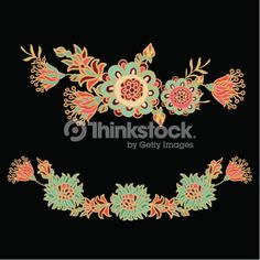 Seamless floral vector pattern in turkish style Turkish Style 4f3d1f8155