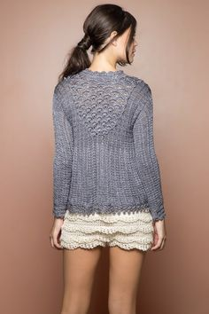 Netuno Annecy Crochet Top - Vanessa Montoro USA - vanessamontorolojausa