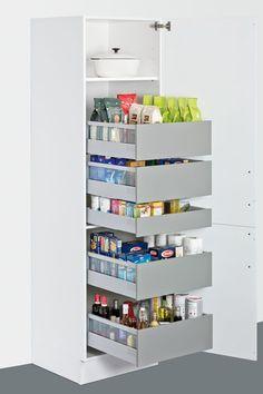 ikea hack einrichten der abstellkammer speisekammer im. Black Bedroom Furniture Sets. Home Design Ideas