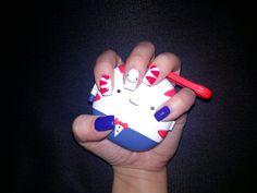 Peppermint Buttler Nails
