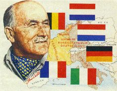 Jean Omer Marie Gabriel Monnet (1888-1979) est un homme d'État français, artisan de la victoire des alliés durant la Seconde Guerre mondiale, père de la planification à la française et un des pères fondateurs de l'Union européenne.