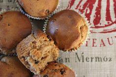 Muffins με γιαούρτι, μέλι και καρύδια