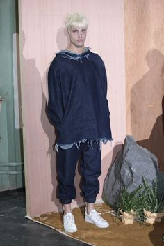 Marques' Almeida (Fashion East Men's Presentations), SS15 #LCM