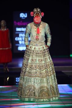 Manish Arora for Delhi Couture Week 2014. #perniaspopupshop #ManishArora #Delhi…
