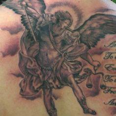 Michael the Archangel tattoo