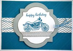 Motorcycle card design
