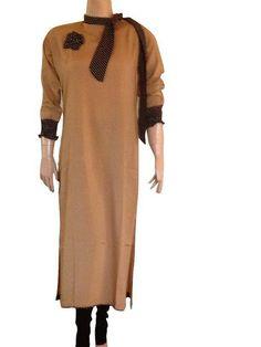 Ladies Kurta Neck Design Images Style Neck Designs Collection ... Long Kurtis Online Shopping, Kurta Neck Design, Cold Shoulder Dress, Lady, Collection, Dresses, Style, Fashion, Vestidos