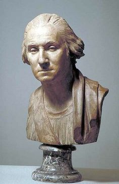 Jean-Antoine Houdon: George Washington (Paris, Louvre)