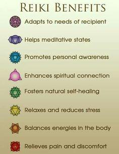 Benefits of reiki