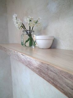 Live edge Floating Shelf Hamptons style Perth