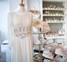 Luella's Boudoir accessories  unique bridal boutique in Wimbledon Village, London.