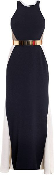 STELLA MCCARTNEY Saskia Cutout Side Dress