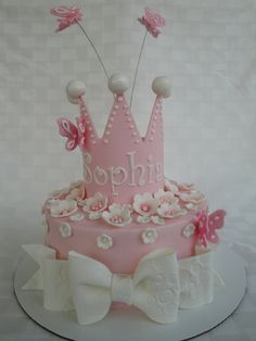 Butterfly Princess Cake