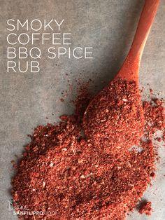 Smoky Coffee BBQ Spice Rub   Diane Sanfilippo