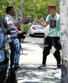 Justin perdeu a paciencia, ta certo!