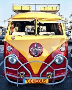Coussin Housse Taie D/'oreiller Motif Coussin Coussin VW-camionnette rouge t2 Samba Bus