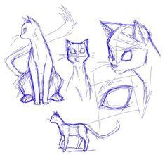 Drawing The Human Figure – Tips For Beginners Resultado de imagen para cat anatomy drawing Cat Anatomy, Anatomy Drawing, Cat Sketch, Drawing Sketches, Drawing Tips, Cat Drawing Tutorial, Body Sketches, Eye Tutorial, Drawing Ideas