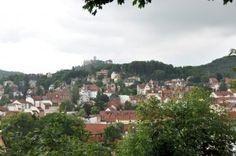 Blick über Eisenach auf die Wartburg