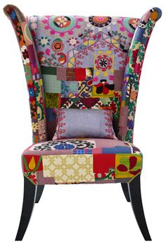 Patchwork Suzani similar to that at Ashby House Interiors