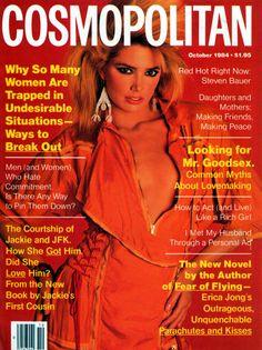 Cosmopolitan magazine, OCTOBER 1984 Model: Kelly Emberg Photographer: Francesco Scavullo