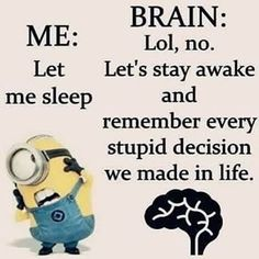 Slapen...