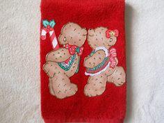 Christmas Towel, Christmas Bathroom Hand Towel, Christmas Kitchen ...