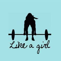 "you know it use to be a bad thing to say ""like a girl"" but now its changed!"