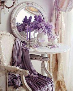 Lavender Lilac Cottage •~• vignette