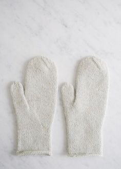 Arched Gusset Mittens | The Purl Bee