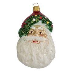 Santa Head OrnamentSanta Head Ornament