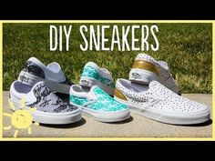 Brilliant Project: Make Your Own Designer Shoes with Just a Little Glue - DIY & Crafts