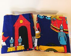 Vintage Sears Marching Band Valances, Sgt Peppers Lonely Hearts Club Band, The Beatles, Vintage Curtains, Marching Band Music Fabric by hollydollyvintageky on Etsy https://www.etsy.com/listing/519866770/vintage-sears-marching-band-valances-sgt