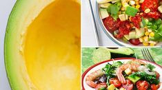 5 Avocado salads that you can not stop preparing - Slimming at home - Pizza de fruta - Drinks Alcohol Recipes, Alcoholic Drinks, Cantaloupe, Canning, Fruit, Healthy, Ethnic Recipes, Food, Avocado Salads
