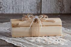 Porte bagues bois rustique/Boîte bagues par lechoixdelamariee