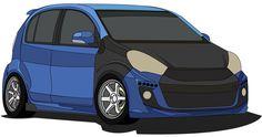 Car design daihatsu passo