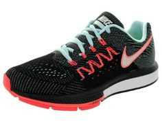 e532e4bef4606 Nike Women s Air Zoom Vomero 10 Ice White Black Hot Lava Running Shoe 5.5  Women US