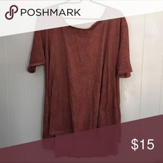 Umgee tunic Lightweight, comfy tunic by Umgee. Rust colored, but slightly lighter than the picture shows. Umgee Tops Tunics