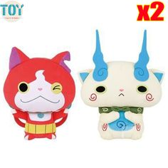 Find More Movies & TV Information about New 2pcs Japan Yokai Watch Super DX BANDAI Yo Kai Watch Red Cat KOMA SAN Plush Toy Soft Anime Doll,High Quality toy story jessie doll,China toy arrow Suppliers, Cheap doll plush toy from Toys in the Kingdom on Aliexpress.com