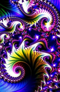 fractal imagination | Fractal spiral blue purple www.12go.deviantart.com/gallery/?offset=72