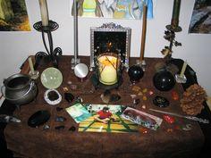 Sonhando com meu altar em funcionamento já...
