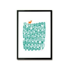 Win the Stylist Interior Edit Silk Screen Printing, Green And Orange, Deer, Stylists, Colours, Interior, Paper Paper, Artist, Prints