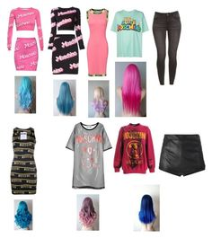 """""""Untitled #2232"""" by aurorazoejadefleurbiancasarah ❤ liked on Polyvore featuring Moschino and La Perla"""