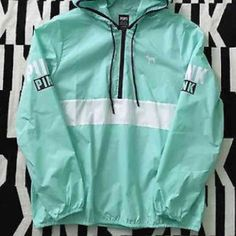 VS PINK ANORAK /WINDBREAKER I literally wore this a handful of times, but still in perfect condition. It is a M/l . ❌Price firm so please do not ask. ❌NO TRADES❌ Not sure I want to sell unless I get a good offer!!! Cheaper on Merc, or ️️ PINK Victoria's Secret Jackets & Coats