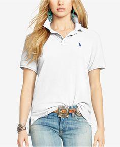 b26e1d6c4 Polo Ralph Lauren Boyfriend Polo Shirt & Reviews - Tops - Women - Macy's