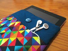 Capa Kindle e Ipad Mini cor Azul Petróle