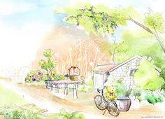 Картинки по запросу 手繪 風景