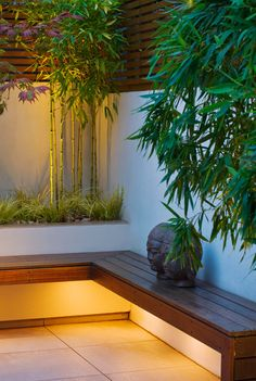 in this beautiful post completed with dozens of nice images you would difficult to match, this is 10 small courtyard garden ideas you could copy for your small garden or backyard space Garden Design London, Back Garden Design, Backyard Garden Design, Patio Design, Backyard Patio, Backyard Landscaping, Small Courtyard Gardens, Small Courtyards, Small Garden Landscape