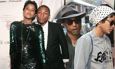 He's just tied the knot the fashion model and designer Helen Lasichanh, so Pharrell Williams stylish reputation couldn't get any better.