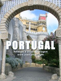 Descobrir Portugal: 100 Locais Lindos para Visitar Portugal - Fly Tutorial and Ideas Visit Portugal, Spain And Portugal, Portugal Travel, Places To Travel, Travel Destinations, Places To Go, Portuguese Culture, Beautiful Places To Visit, Travel List
